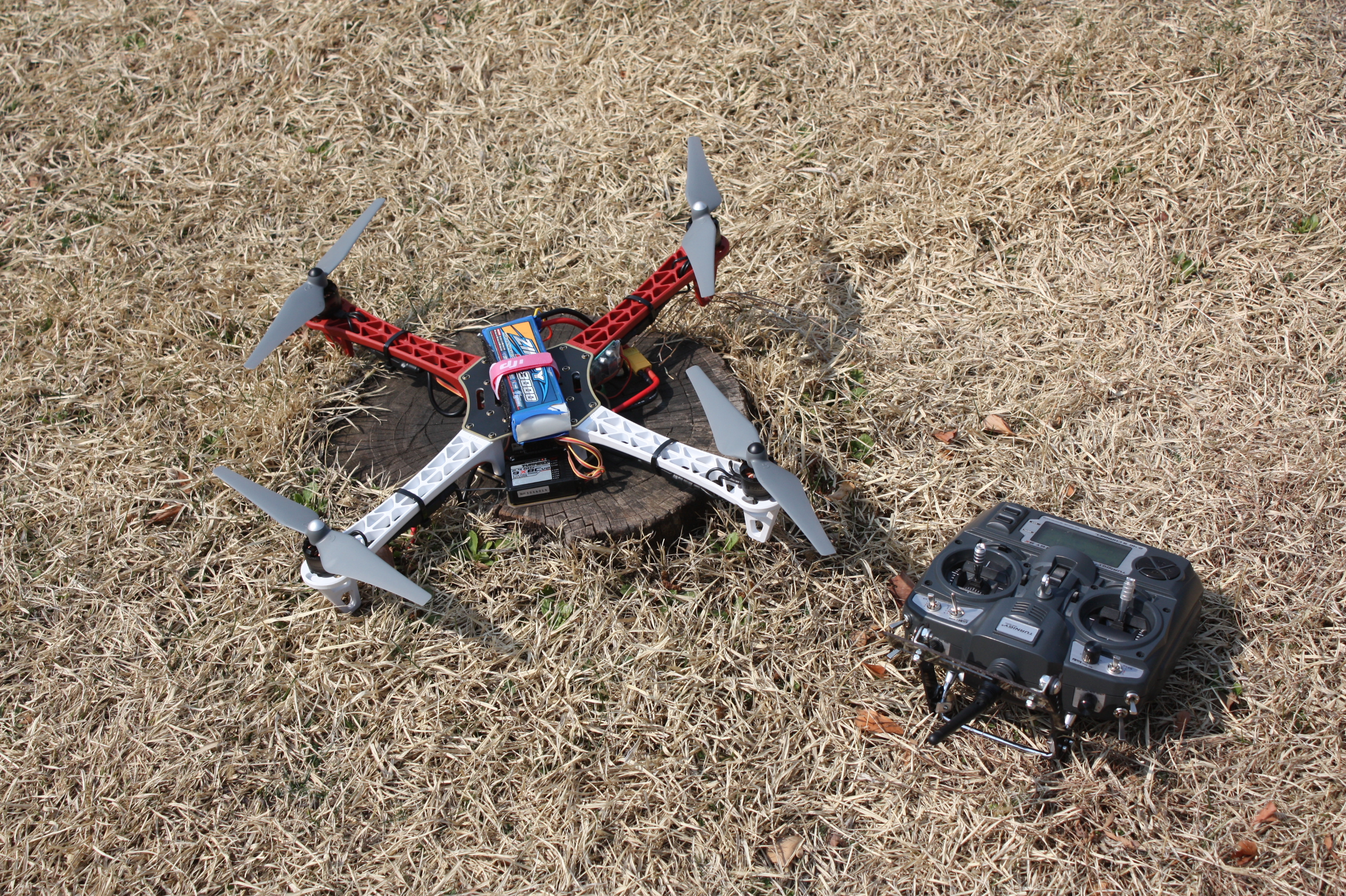 Build My Own Quadcopter – With APM and DJI F450 Flame Wheel