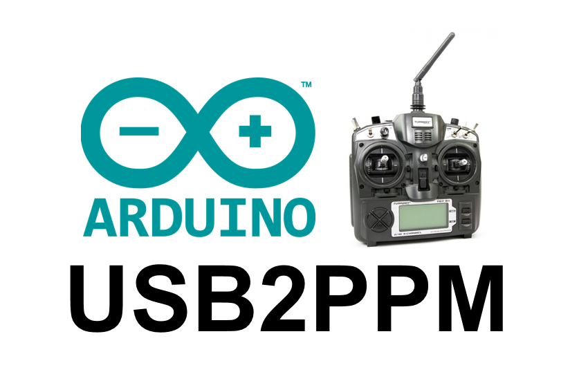 Usb ppm interface for accessing transmitter trainer ports